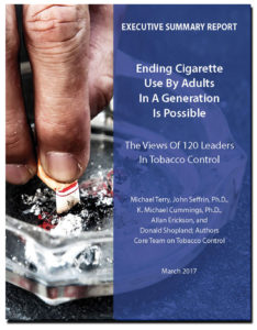 Download the report: ENDING CIGARETTE USE BY ADULTS IN A GENERATION IS POSSIBLE